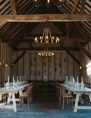 Kimbridge Barn, a stunning wedding venue in Hampshire