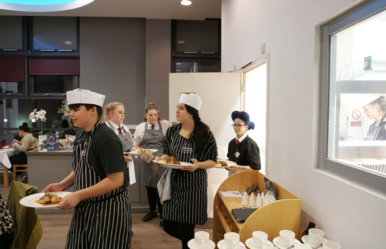 City College Southampton Inspires Next Generation Of Chefs Ideal Collection
